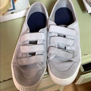 Sperry Crest Creeper Velcro Suede Sneaker